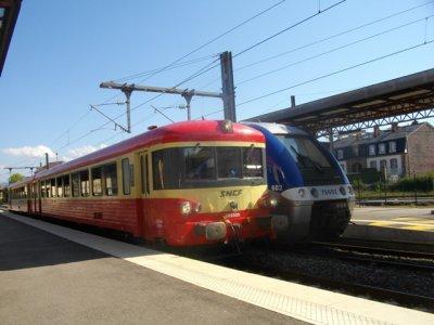 x 4395 en gare de Saint-Dié le 24 septembre