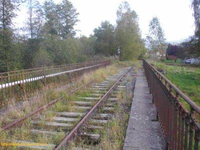 Ligne 18.5  Laveline-dvt-Bruyères à Gérardmer au niveau du PK0