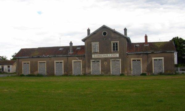 Gare de Rambervillers
