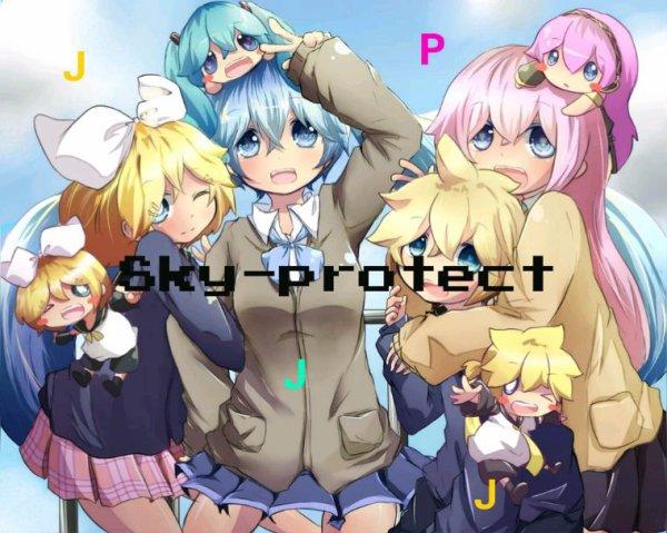 《Équipe de protection junior de skyblog》