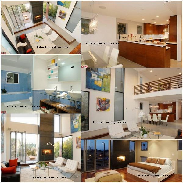 8  Découvrez en exclu. l'intérieur de la maison de Lindsay située à Venice, en Californie. 8
