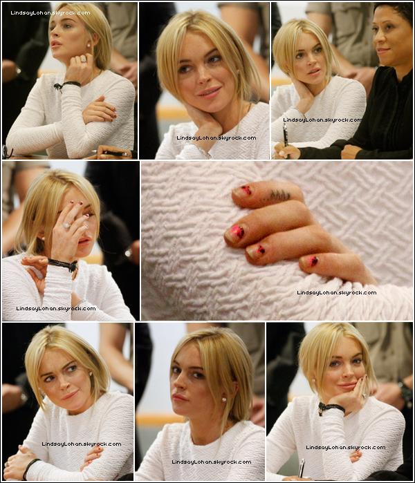 88 09/02/11 - Lilo s'est rendue au tribunal pour l'affaire du bijou (voir article en dessous), à L.A. 88