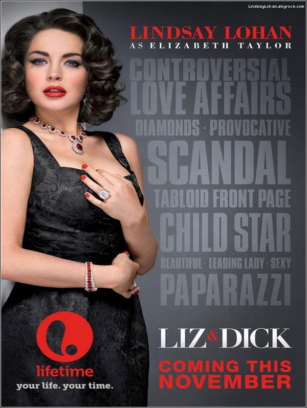 88  Découvrez l'affiche du film « Liz and Dick » où LiLo tient le premier rôle.  88