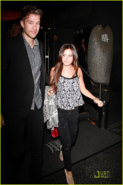 Ashley Tisdale: Sushi with Scott Speer
