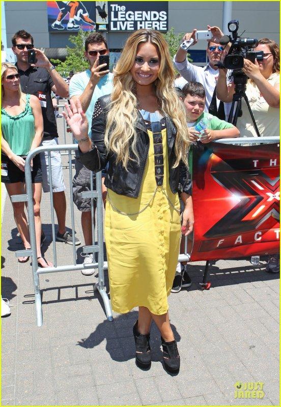 Demi Lovato: Kansas City 'X Factor' Auditions!