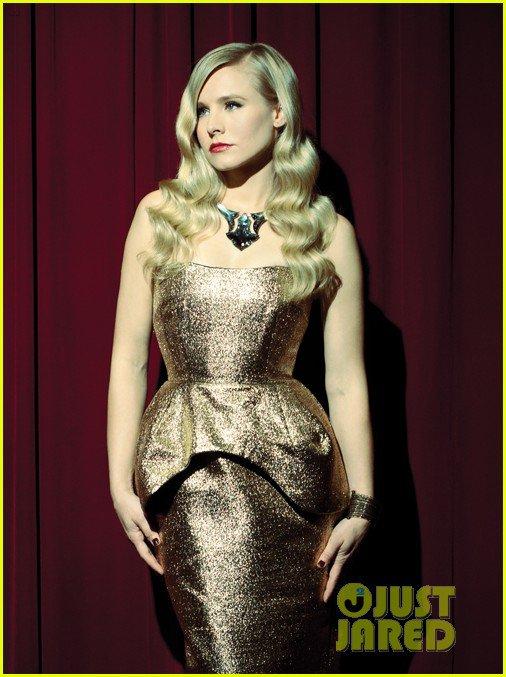 Kristen Bell Covers 'Zooey' Magazine September 2012