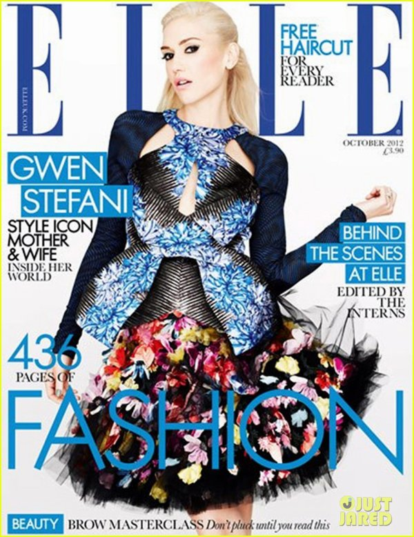 Gwen Stefani: 'Elle' UK Magazine Cover Girl!