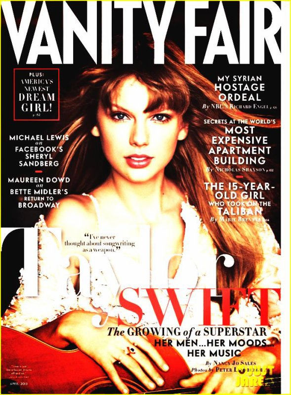 Taylor Swift: 'Vanity Fair' Cover