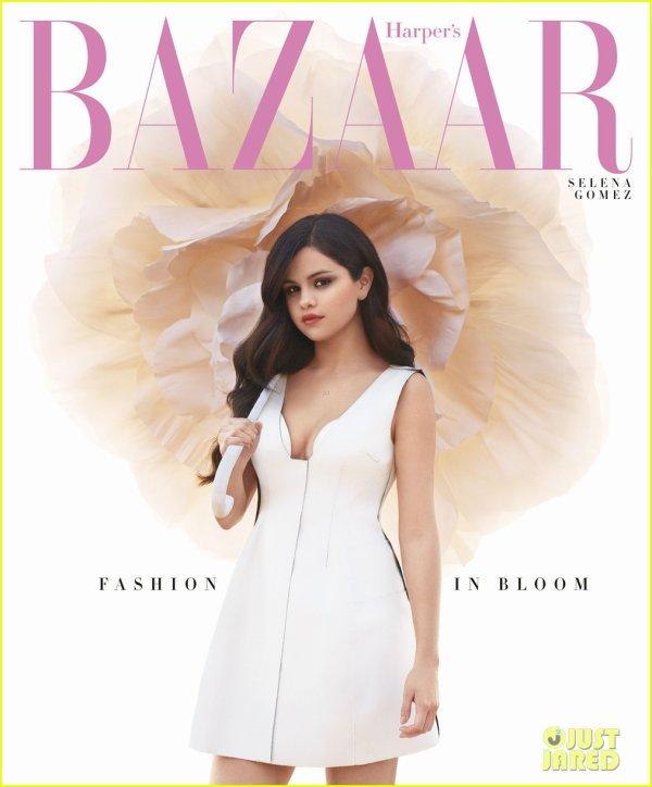 Selena Gomez Covers 'Harper's Bazaar' April 2013