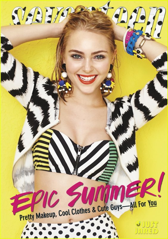 AnnaSophia Robb Covers 'Seventeen' May 2013