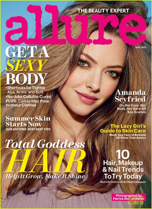 Amanda Seyfried Covers 'Allure' Magazine Nudes Issue