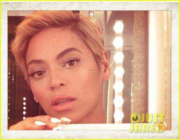 Beyonce Cut Hair !!