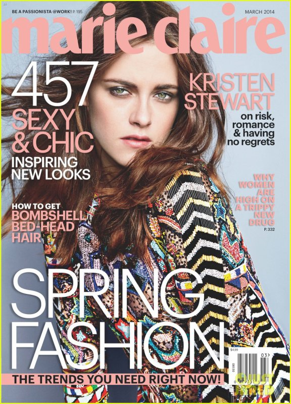 Kristen Stewart to 'Marie Claire': I Don't Pressure Myself to Fall in Love