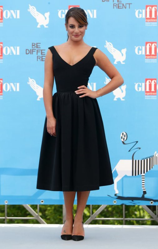Lea Michele's Giffoni Film Festival Dress