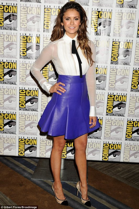 Nina Dobrev : 'Let's Be Cops' at Comic-Con 2014