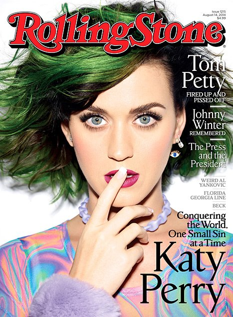 Katy Perry Covers Rolling Stones