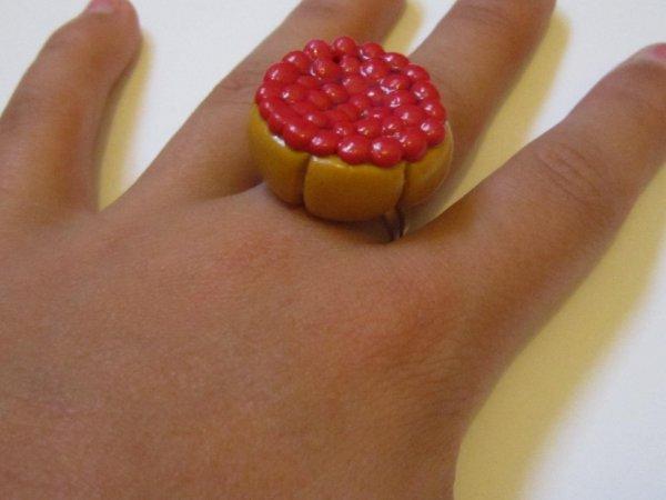 bague charlotte aux fraises