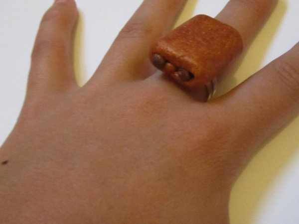 bague pain au chocolat