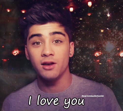 zayn i love you