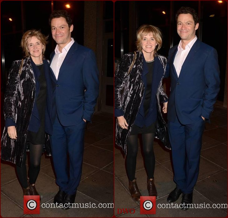 Dominic West Family...