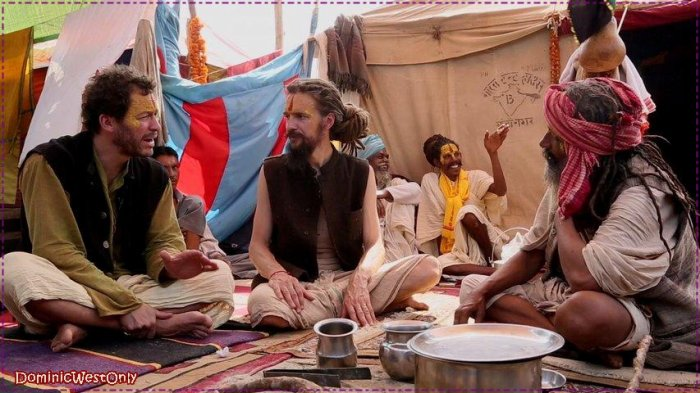 ---Dominic West en Inde ,suite ---