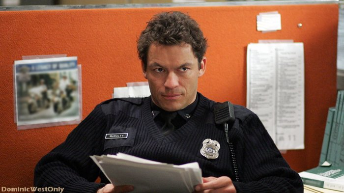 Dominic West =Jimmy Mac Nulty  The Wire  ,photos & vidéos
