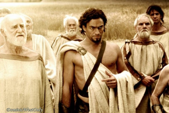 """Dominic West dans le film """"300"""""""