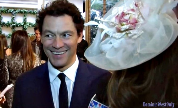 Dominic West star of The Affair & Pride on the Red Carpet !