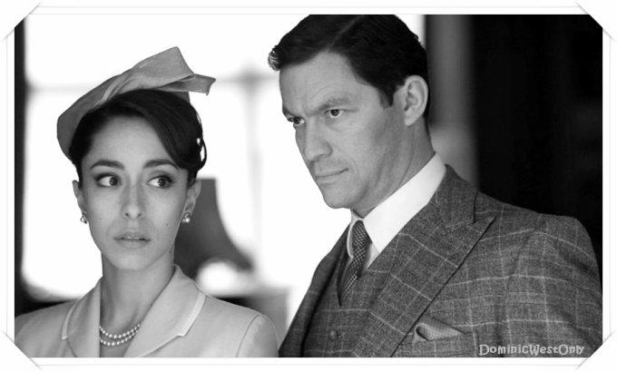 -- Dominic West The Hour black & white --