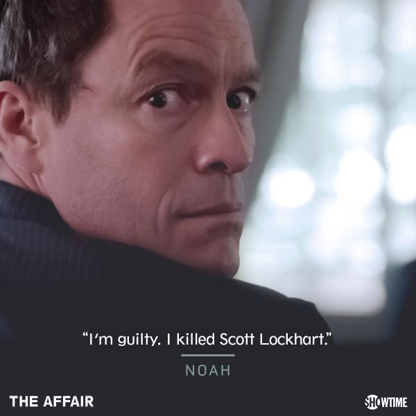 The Affair  saison 2 épisode 12 le procès et observations sur ce final