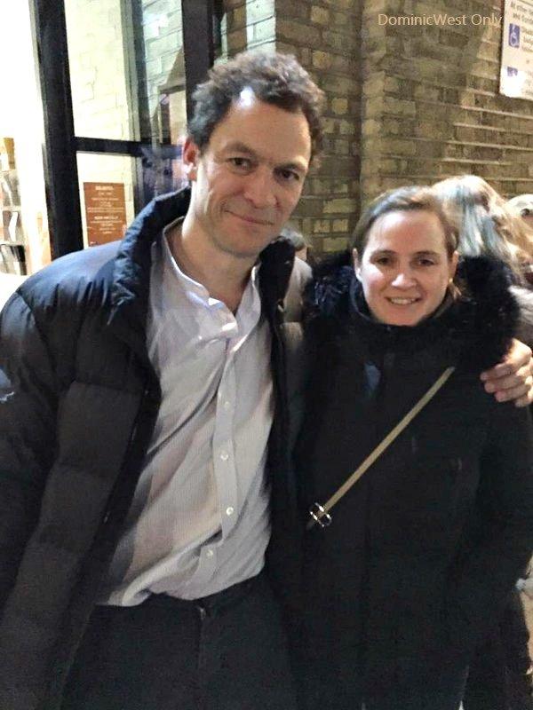 Une fan française avec Dominic