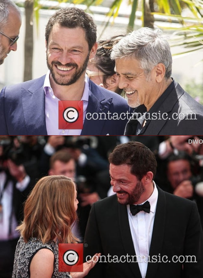 Dominic à Cannes pour Money Monster