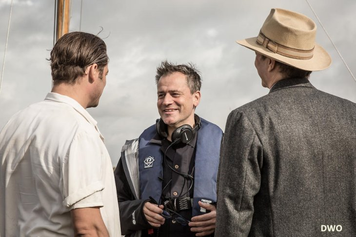 Film Genius ,new photos avec Dominic