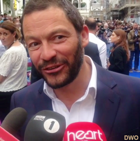 Dominic West  pour le film Finding Dory