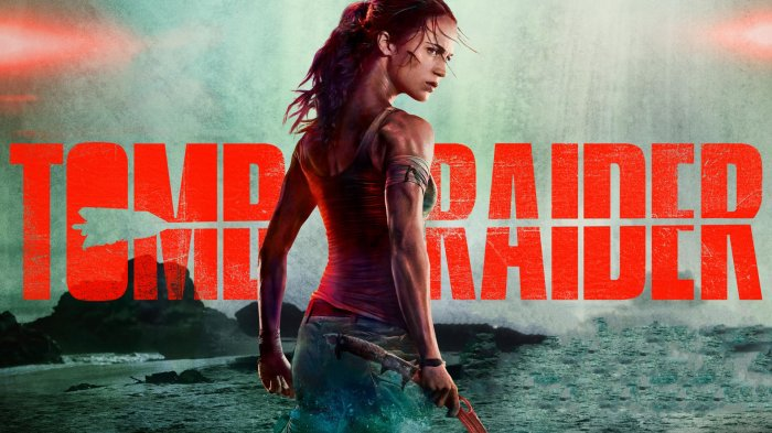 TOMB RAIDER Trailer avec Dominic West