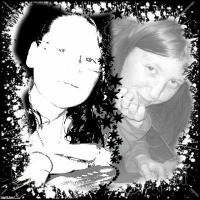 2 filles geniale (moi et ma soeur de coeur)