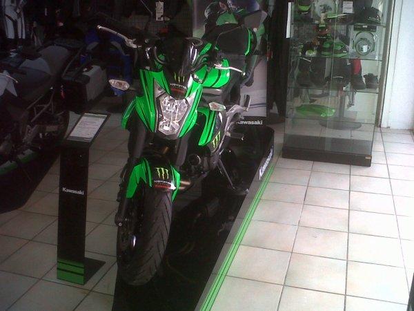Ma nouvelle Moto :)