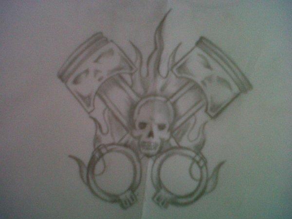 dessin de mon tatouage :)