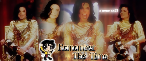 Dangerous / Michael Jackson - Remember The Time (1992)