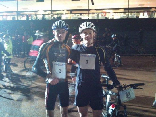Run and Bike de Marcq en baroeul by night    samedi 5 fevrier 2011