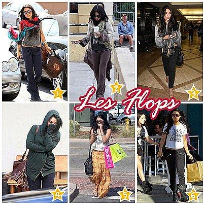 Les TOPS/FLOPS de Vanessa en 2010