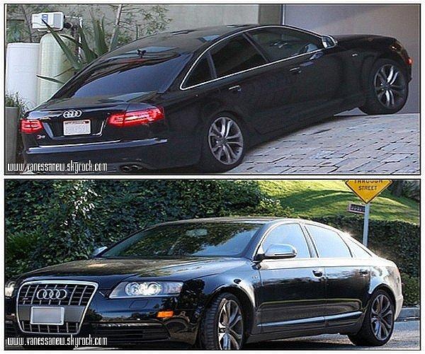04/01/11 Vanessa à été aperçut  Sortant de son rendez-vous chez le chiropracteur à L.A , retournant dans sa Mercedes.
