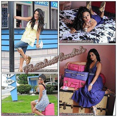 -  Candie's Photoshoot - Nouvelles photos du photoshoot de Vanessa pour Candie's   -