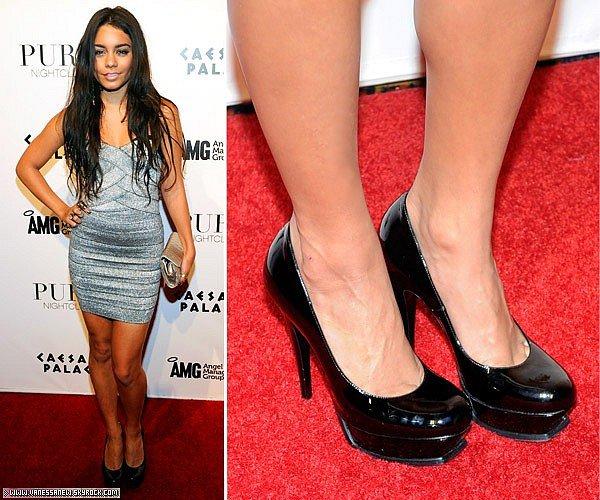 Article spécial : Vanessa et ses chaussuresParmis toutes ces chaussures que Vanessa a porter lesquelles préfères-tu ?