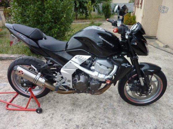 ma nouvelle moto Z750
