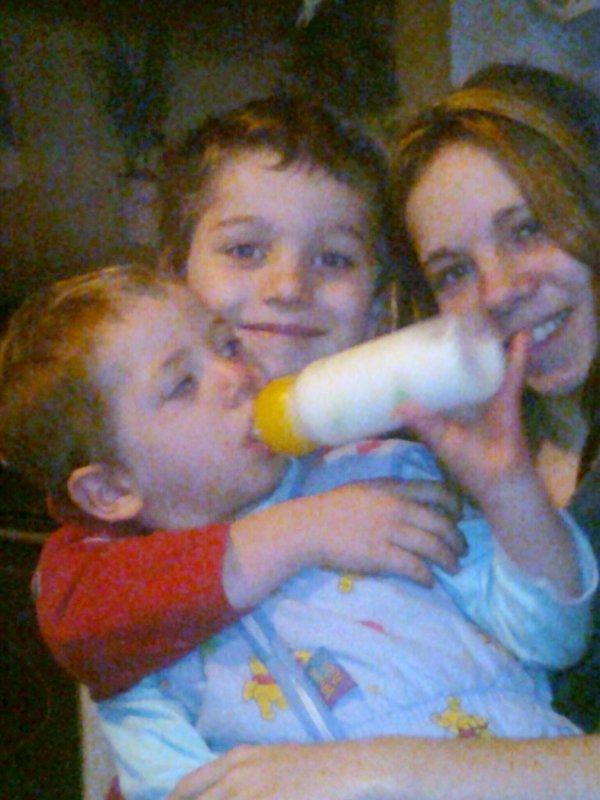 Moi et mes deux fils