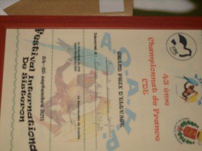 champion de france CDE 2011