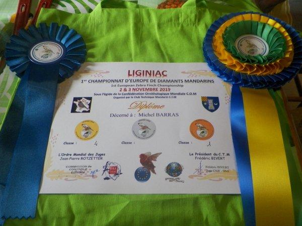 TROPHE  2019  LIGINIAC   CHAMPIONNAT EUROPE COM