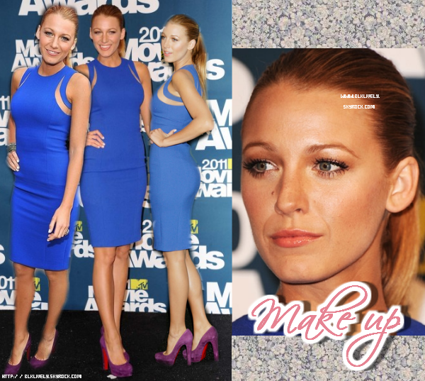 Blake aux MTV Movie Awards 2011