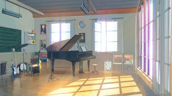 | La salle de Musique |